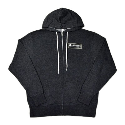 Charcoal Grey Yeast of Eden Zip-Up